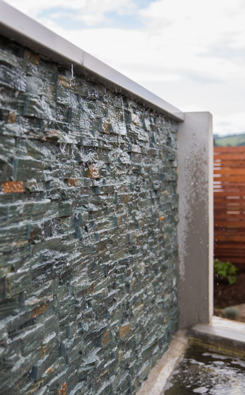 Rock Wall Water Feature Design