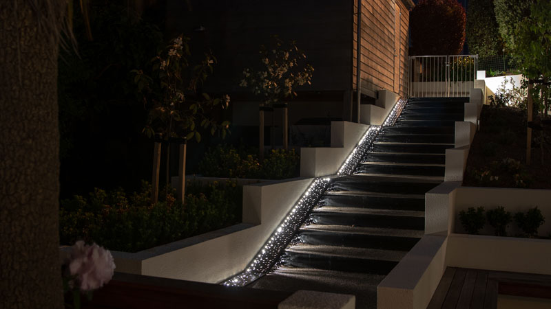 Night Sky Stairs | Design & Garden Landscapes | Dunedin, NZ